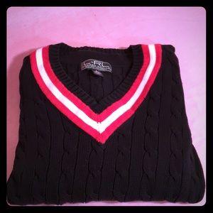 Ralph Lauren V-neck sweater-SMALL